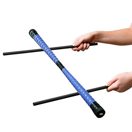 Sport-Thieme Devil-Stick-Set | Robuster Einsteiger-Devilstick inkl. 2 gummierter Handstäbe |...