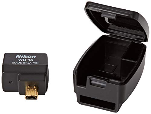 Nikon WU-1a Wireless Mobile Adapter 27081 for Nikon Df, Nikon 1 S2, COOLPIX P530, D3300, COOLPIX P7800, COOLPIX P330, COOLPIX A, D7100, COOLPIX P520, D5200, D3200 Base
