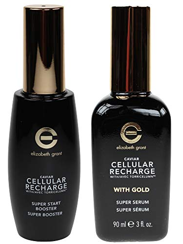 ELIZABETH GRANT Caviar Cellular Recharge Super Start Booster, 60ml + Super Serum mit Gold 90ml