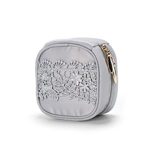 Boîte De Rangement Pour Mini Sac À Bijoux En Dentelle Princesse, H