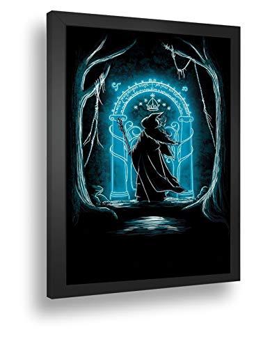 Quadro Decorativo Poste Gandalf - O Senhor Dos Anéis