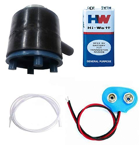 Melody'S Mini Dc Water Pump With 6V To 9V Dc Motor / Lift Upto Water 50 Cm Height / Length-35,mm Thickness-37mm, Shaft Hole-17mm