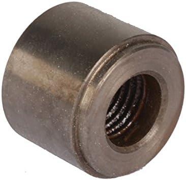 "1//8/"" NPT Female Steel NPT Weld Bung Fitting Sensor Adapter Round"