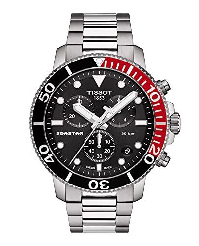 Tissot Seastar 1000 Chronograph - Reloj de hombre de acero y cuarzo T120.417.11.051.01
