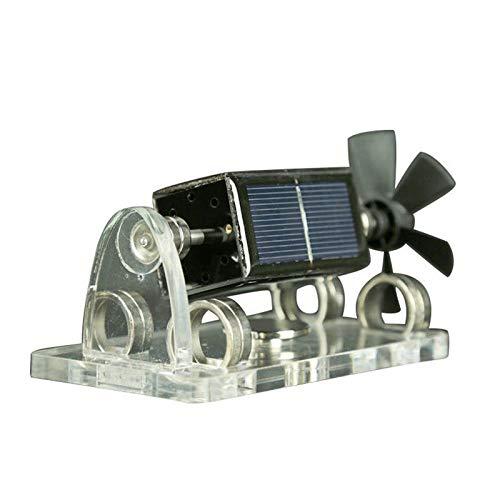 PassBeauty STARK-3 Solar Horizontal 4-seitig magnetisch Levitation Mendocino Motor Stirlingmotor Bildungsmodell