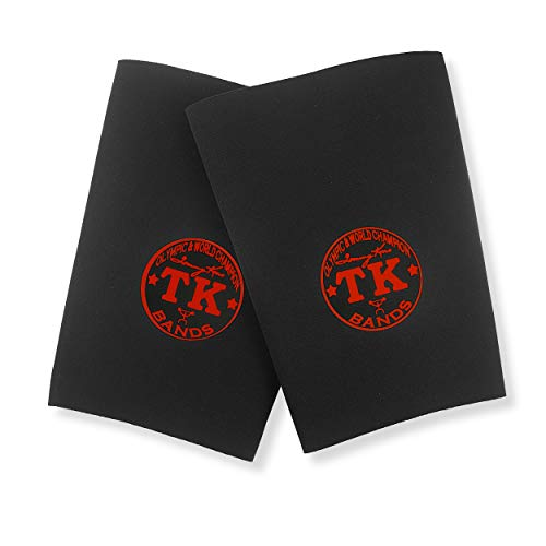 TK Knee Bands Knee Wraps Knee Supports - Medium size(1 Pair)