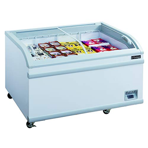 Dukers WD-500Y 17.6 cu. ft. Commercial Chest Freezer in White