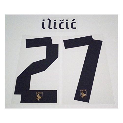 Stilscreen Palermo 27 Ilicic nome e numero maglia home & away 2011/12 - Nero, 27 - ILICIC