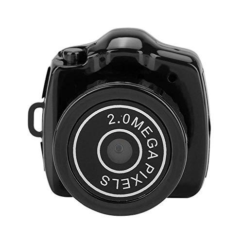 Cámara Tarjeta TF de 32 GB, videocámaras Micro cámara digital con resolución fotográfica de 1280 * 720 Visión nocturna Infrarrojos de 3-5 m, mini grabadora de video compatible con fotos y videos