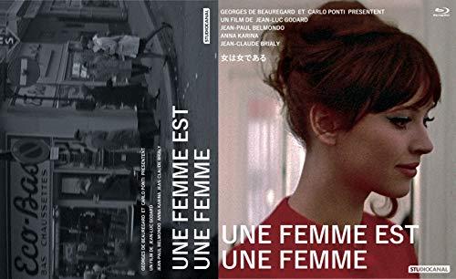 [画像:女は女である/パリところどころ Blu-ray]