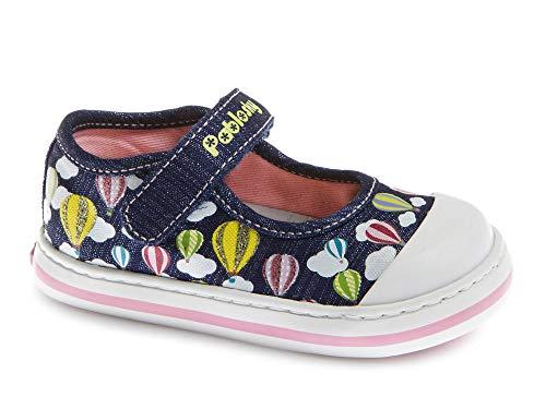 Zapatillas De Lona Niña Pablosky Azul 961221
