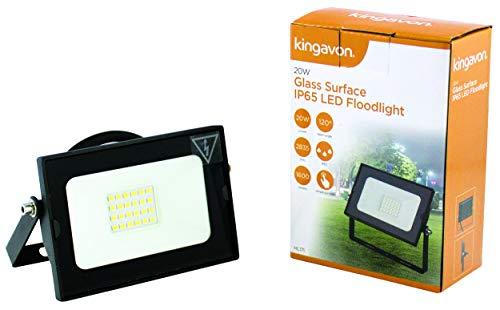 Kingavon Bb-hl171 Surface de Verre IP65 Projecteur LED, Noir, 150 x 35 x 127 mm