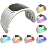 LED Facial Light Therapy - 7 Colors Including Red Light Therapy For Healthy Face and Skin Rejuvenation | Home Light Therapy Facial Treatment