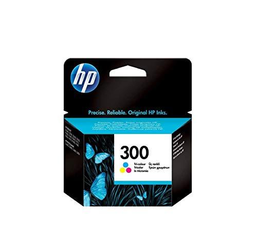 HP 300 CC643EE Cartuccia Originale per Stampanti a Getto di Inchiostro, Compatibile con le DeskJet D2560, D2660, F4280, F4224, F4283 e Photosmart Serie C, Tricromia