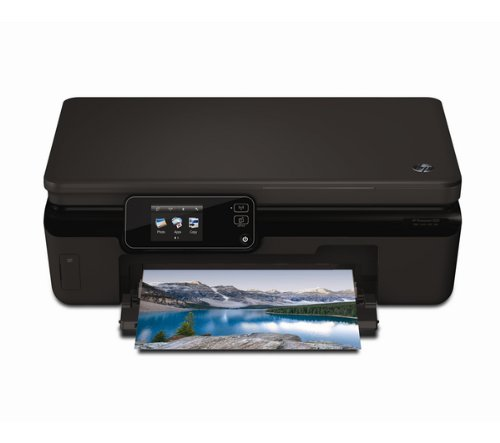 HP Photosmart 5524 - Multifunktionsgeräte (Tintenstrahl, 600 x 600 DPI, 1200 x 2400 DPI, A4, Schwarz, 216 x 297 mm)