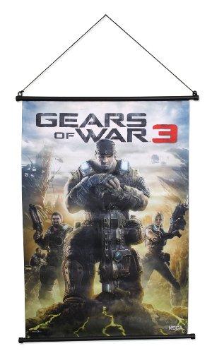 Gears of War 3 Wall Scroll Box Art