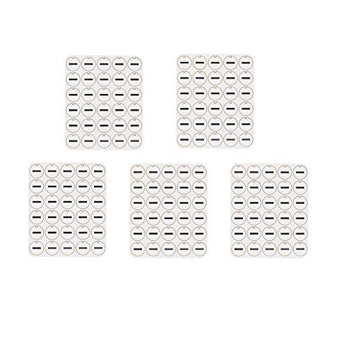 5 Pack Oil-absorb Gasket Cleaning Zubehör kompatibel mit iqos 2.4 Plus /3.0 (150 Stück oil absorbing pads)
