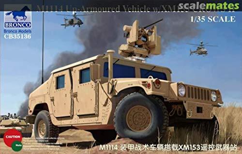 Unbekannt Bronco Models cb35136 – Modélisme Armoured Jeu de M1114 Up Vehicle xm153 crowsii