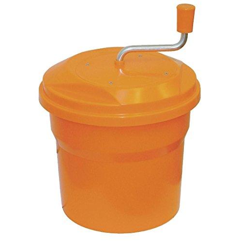 Dynamische Salatschleuder Farbe: orange. Kapazität: 10 Liter. Modell: E10.
