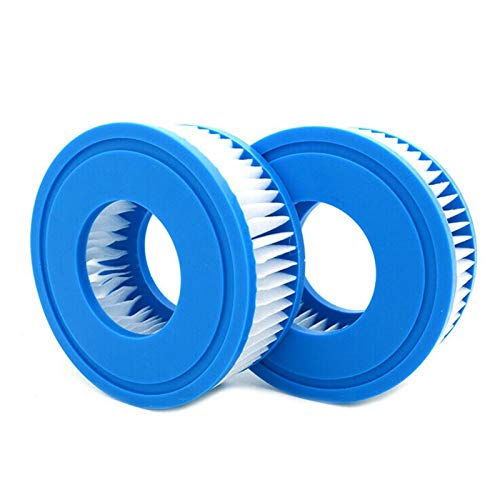 equival Schwimmbad Filterkugel Langlebige Filterkartusche Whirlpool Ersatzteile Pool Erweiterte Hot Tub Filter Cleaner Water Filter Cartridges Filteranlagenzubehör Für Lay Z Spa, Palm Springs