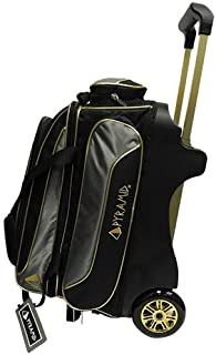 Pyramid Path Premium Deluxe Double Roller with Oversized Accessory Pocket Bowling Bag