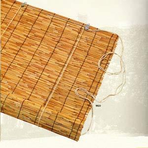 LI.GI TAPPARELLA con CARRUCOLA SALI SCENDI in Canna di Bamboo Classica Varie Misure (90X180)