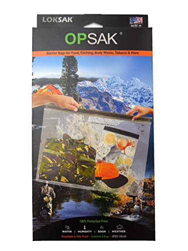 LOKSAK - OPSAK Reusable Storage Bags