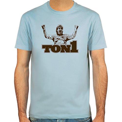 SpielRaum T-Shirt Ton1 ::: Farbauswahl: SkyBlue, Sand oder weiß ::: Größen: S-XXL ::: Fußball-Kult