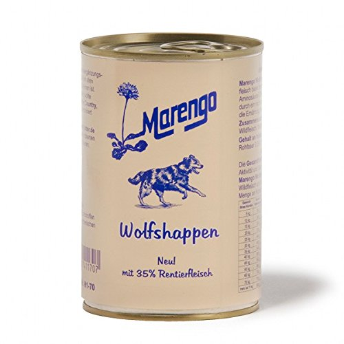 Marengo Dose Wolfshappen, 1er Pack (1 x 400 g)