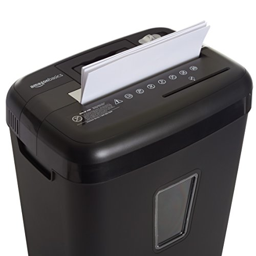 Amazon Basics 12-Sheet Cross-Cut Paper, CD and Credit Card Shredder Photo #7