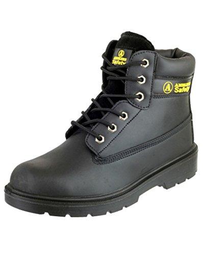 Amblers FS112 Sicherheits Schuhe S1-P / Damen Stiefel (40 EUR) (Schwarz)