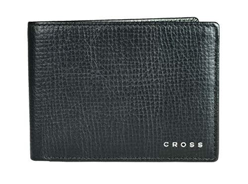 Cross Geldbörse Herren RTC in Geschenkbox mit RFID-Schutz - Echtleder - schwarz Querformat