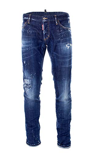 DSQUARED Jeans Herren Blau