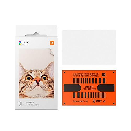 Xiaomi tragbares Drucker-Fotopapier, hochwertiges 3-Zoll-Fotopapier 20 Blatt, TEJ4019GL