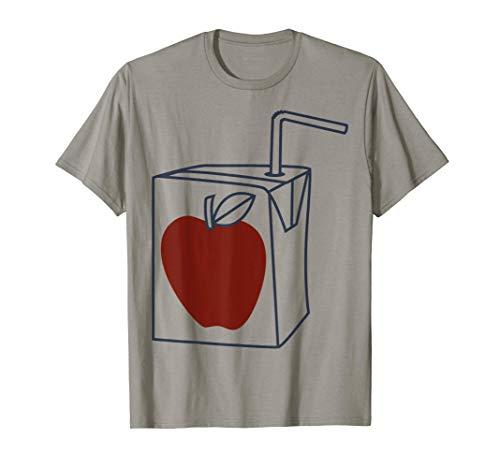 Trendy Large Apple Juice Box Camiseta