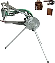ColouredPeas The New (8 -Bearings) Cobbler Machine,Shoe Repair Hand Sewing Machine, Shoe Cobbler Machine with Nylon Line, Manual Mending for Shoes/Bags/Clothes/Quilts/Coats/Trousers (8 -Bearings)