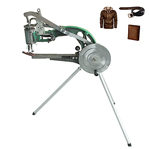 ColouredPeas The New (8 -Bearings) Cobbler Machine,Shoe Repair Hand Leather Sewing Machine, Shoe Cobbler Machine with Nylon Line, Manual Mending for Leather/Shoes/Bags/Clothes/Quilts/Coats/Trousers