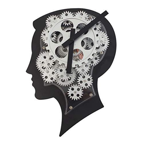 Casablanca Orologio brainwork NERO/ARGENTO, ABS in metallo/ABS, testa m. ingranaggi, F.1Baby Cella (L x H x P) 22X 31X 7,5