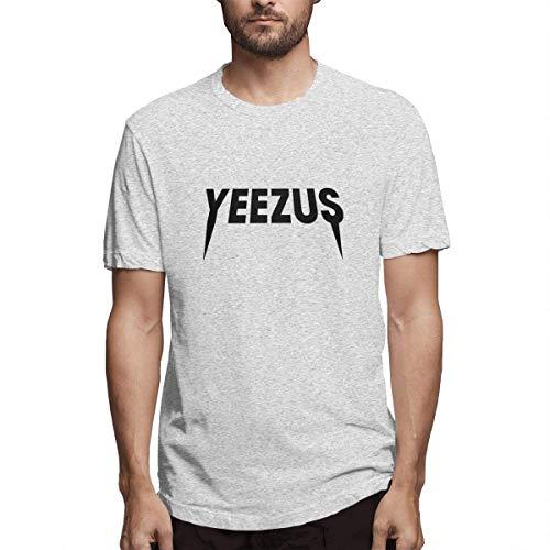 Towilliamsnya Short Sleeve T-Shirt Kanye-West Yeezus Logo Fashion Cotton Cool Shirt