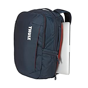 "41QrP34cK4L. SS300  - Thule TSLB317MIN - Mochila para Ordenador portátil (Apple MacBook Pro de 15"" o PC de 15.6"") Color Azul Marino"
