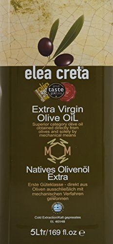 Grecque huile d'olive vierge extra qualité premium de la Crète 5 litres canister