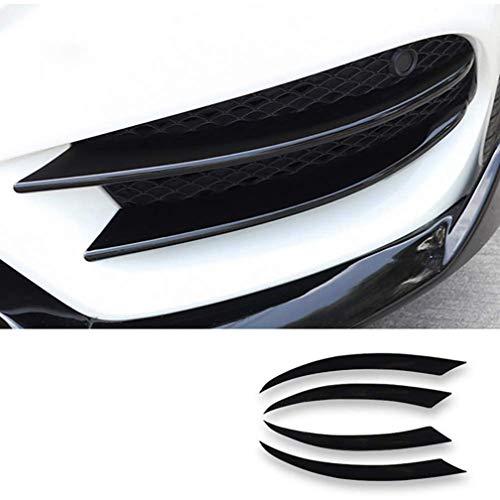 ABS Car Front Stoßstangenflossen Karosserie Spoiler Canard Lip Splitter Für Mercedes Benz Clase C W205 C180 C200 C220 C250 C300 C350 C400 C450 AMG C43 C63 2015-2018