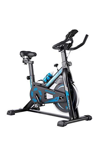 WENHAUS Bicicleta estática para Interior con Pantalla LCD,