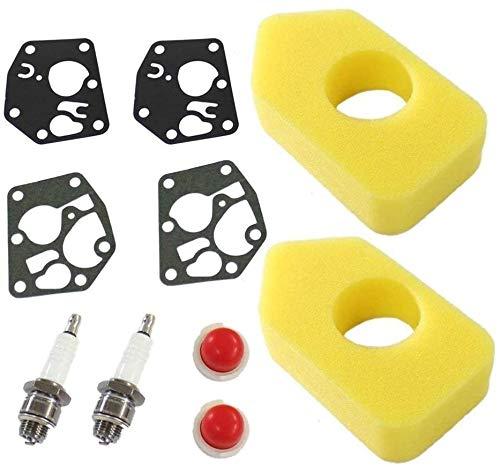 YUSHIJIA Mehrere Modelle 2X Luftfilter 698369 mit Vergasermembran 495770 795083...