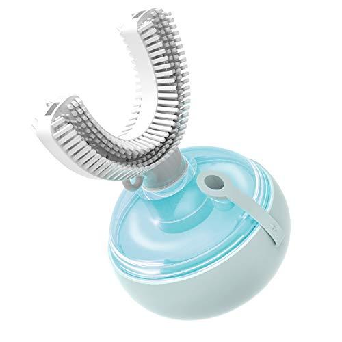 Cepillo De Dientes Eléctrico De Frecuencia Variable U-Type Para Limpieza Oral De...