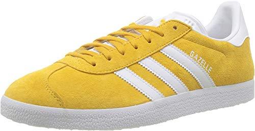 adidas Herren Gazelle Sneaker, Gold (Active Gold/FTWR White/FTWR White Active Gold/FTWR White/FTWR White), 44 2/3 EU