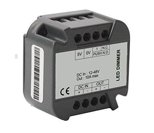 Led Dimmer Taster Push Button 12 / 24 Volt 8 Ampere