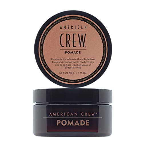 American Crew Pomade, 3 oz, Smooth Control with High Shine