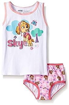 Nickelodeon Toddler Girls  Paw Patrol Skye Underwear and Tank Set Assorted 2T/3T
