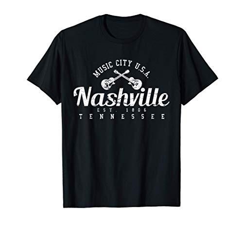 Nashville Country Musik Tennessee USA Geschenk T-Shirt